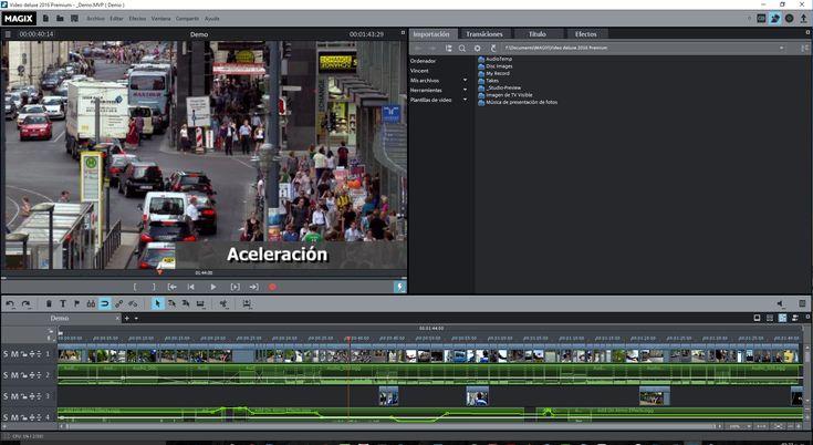 ONE: Magix Video Deluxe 2016, un sorprendente editor de video preparado para 4K