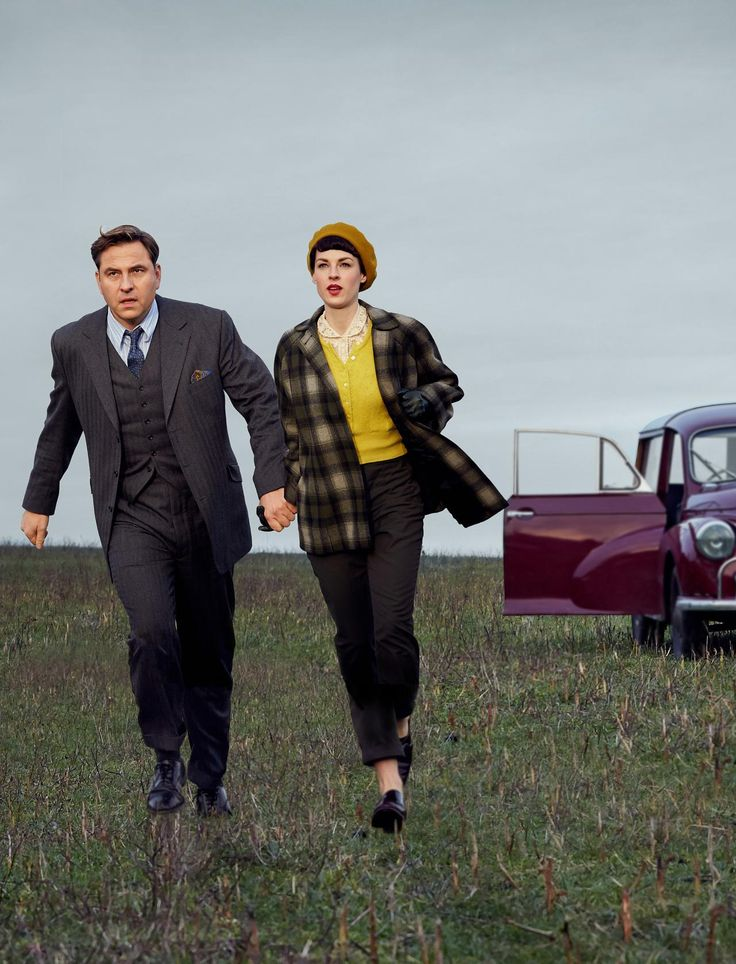 BBC TV Agatha Christie's Partners in Crime (2015). Tommy & Tuppence Beresford - just wonderful casting & everything else.