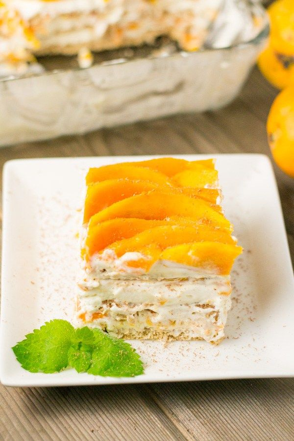 Mango Float Dessert