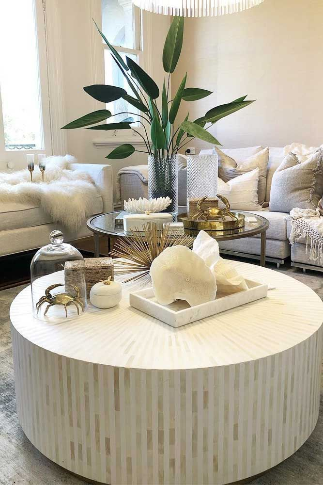 24 Trendy Ways To Arrange Coffee Table Decor White Round