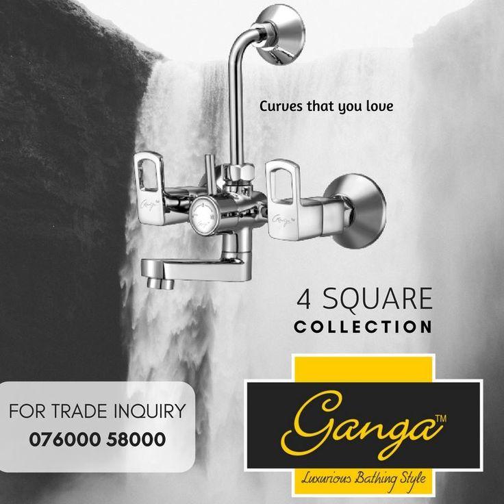 Simple yet exquisite  http://www.gangabathfittings.com/ #faucets #personalcomfort #design #pleasure #effortlessperformance #striking