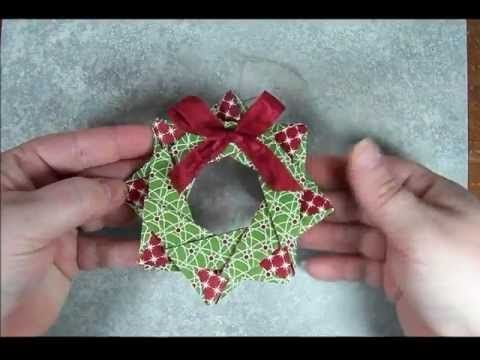Star Wreath Origami Ornament. Link download: http://www.getlinkyoutube.com/watch?v=Bc5DjcRfCZ8