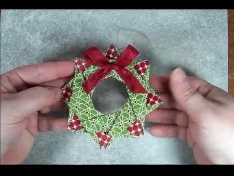 Star Wreath Origami Ornament. Link download: http://www.getlinkyoutube.com/watch?v=Bc5DjcRfCZ8
