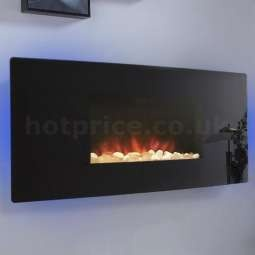 Celsi Accent Black Curved Hang-on-the-Wall Electric Fire - Only £299 http://www.hotprice.co.uk/celsi-accent-curved-electric-fire