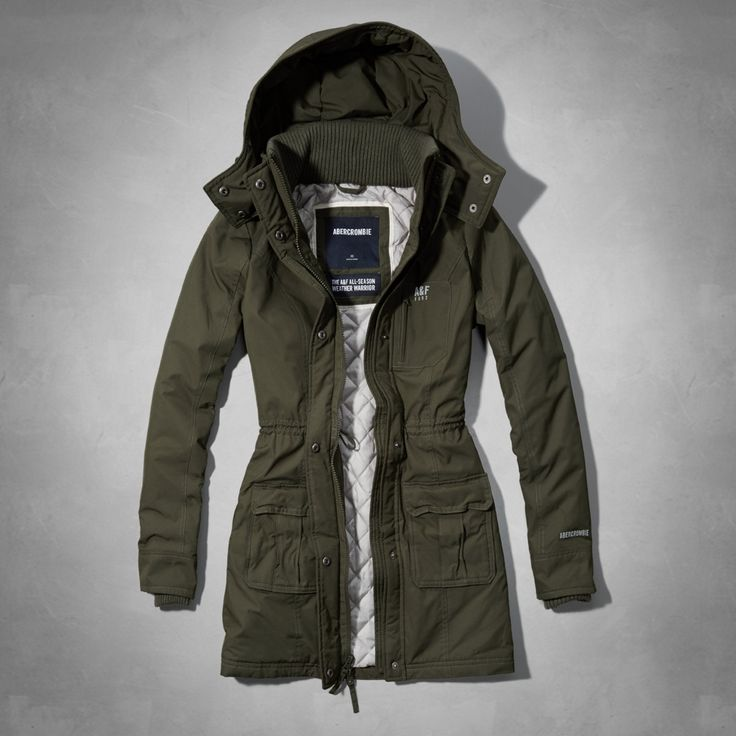 Womens A&F All-Season Weather Warrior Parka | Womens Jackets & Outerwear | Abercrombie.com