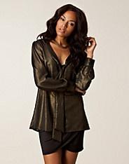 Carole Bow Blouse - Rut m.fl. - Guld - Blusar & skjortor - Kläder - NELLY.COM Mode online på nätet $199