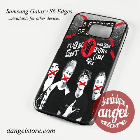 5 sos rock out Phone Case for Samsung Galaxy S3/S4/S5/S6/S6 Edge