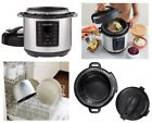 nstant Pot 6 in 1 Programmable Pressure Cooker 6 Quart 1000W V3 Instapot, Shipping FREE, Item location New York,NY,USA (  Manufacturer - Pressure Cooker 6 in 1, EAN - Does not apply, Delivery - Free Expedited Shipping, Product Dimensions - 13.6 x 11.9 x 13.6 in, Item Weight - 12.8 pounds, Free Returns? - Yes, Tax? - No Tax, WOW!, Size - 6 Quart, 8 one-touch digital meal settings - Include Meat|Stew, Beans|Chili etc, Accessories include - Recipe book, steaming rack,  serving spoon, Dishwasher…