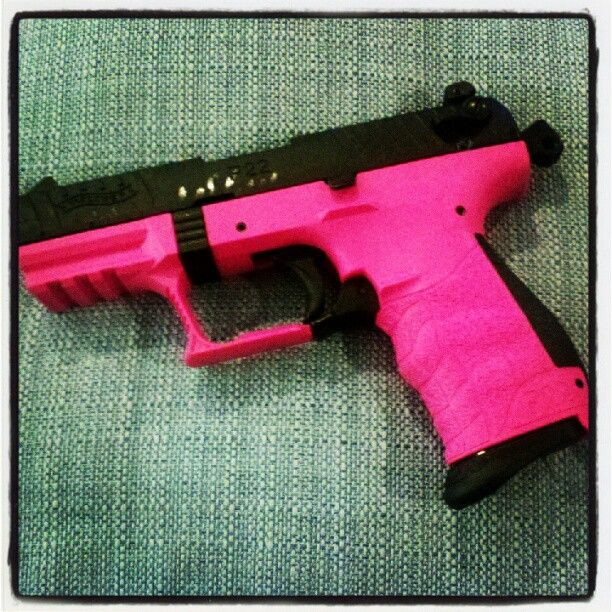 Walther P22 .... Trying to get the Hubby to put a suppressor on it and let me keep it!