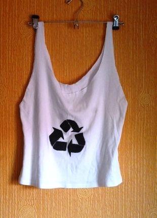 Kup mój przedmiot na #vintedpl http://www.vinted.pl/damska-odziez/koszulki-na-ramiaczkach-koszulki-bez-rekawow/6290402-koszulka-bluzka-diy-karma