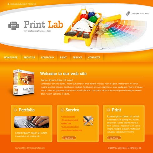 print lab website template 6028 webdesign more web ideas at stylendesignscom web design pinterest labs printing websites and search - Web Page Design Ideas