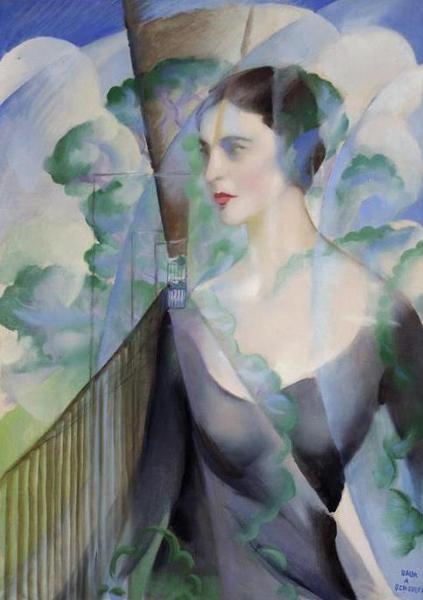 Portrait of Benedetta Marinetti by Giacomo Balla (Italy)