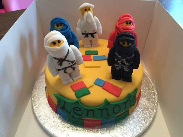 Lego ninja go cake
