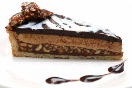 Chocolate Peanut Butter Tart - Dessert perfection!