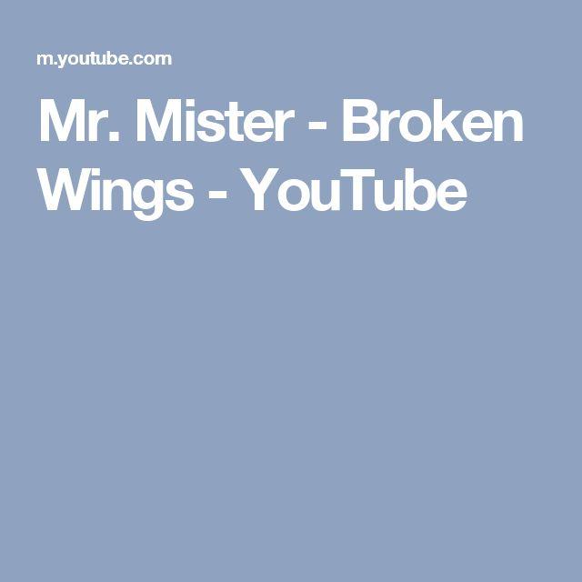 Mr. Mister - Broken Wings - YouTube