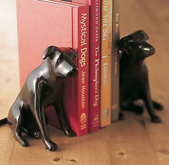Crafts For Dog Lovers: Restoration Hardware Dog Bookends