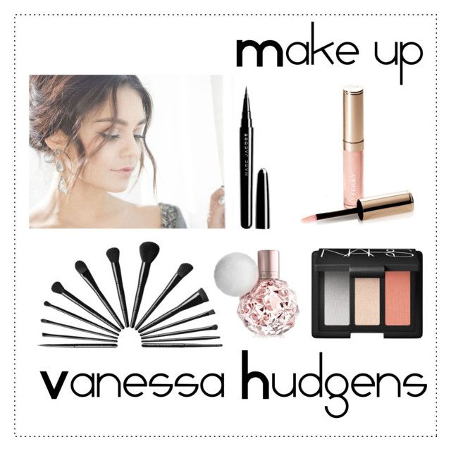 """""""Make up Vanessa Hudgens"""" by alejandra-rodriguez-villalpando ❤ liked on Polyvore featuring beauty, Marc Jacobs, By Terry and NARS Cosmetics"""