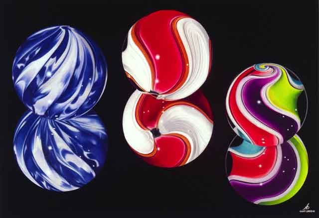 Colored Marbles For Probability Lesson : Best marbles images on pinterest painting