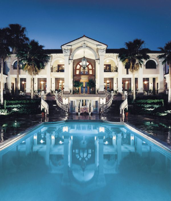 Great Gatsby Mediterranean Italian Luxury Home Villa