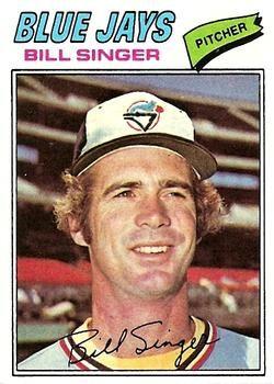 1977 Topps #346 Bill Singer Front
