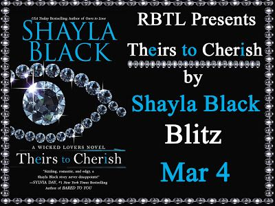 Tome Tender: Shayla Black's Theirs to Cherish Book Blitz & Giveaway