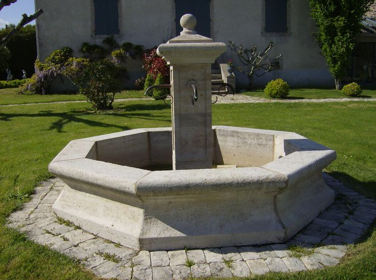 Image issue du site Web http://www.lescarrieresdebontemps.fr/IMG/jpg/ex323-fontaine_provencale_aiguillee_.jpg