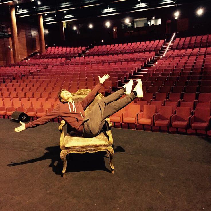 """""""Fantastico"""" ce week-end à Lyon ... 6 représentations au Palais des Congrès avec une équipe magique !!! Merci @ the Team wink emoticon"""