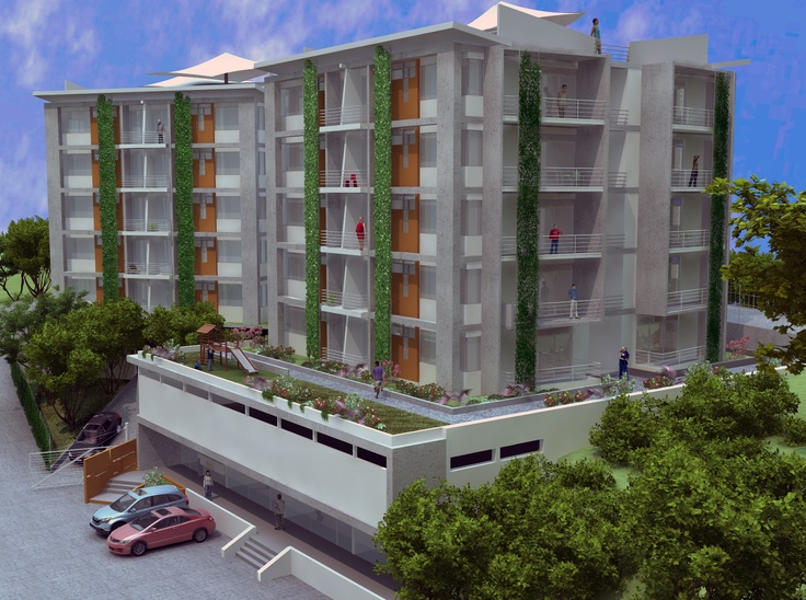 Fachada Sion Apartamentos