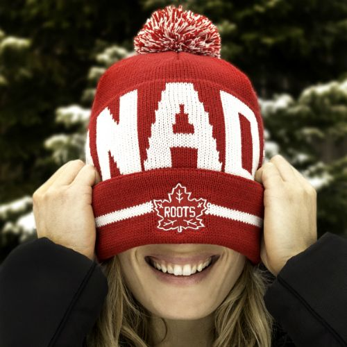 Support the Trans Canada Trail with our Canada Pom Pom Toque