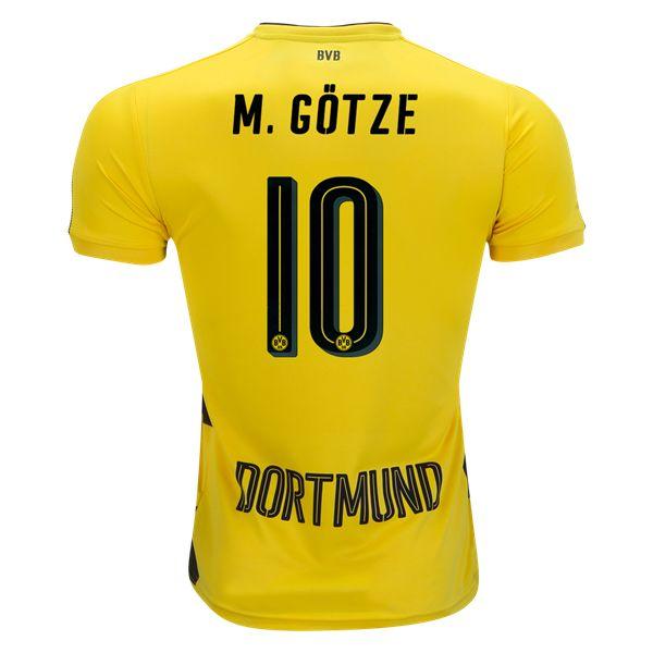 PUMA Mario Gotze Borussia Dortmund Home Jersey 17/18