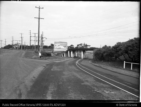 Bridge over Nepean Highway, Mordialloc