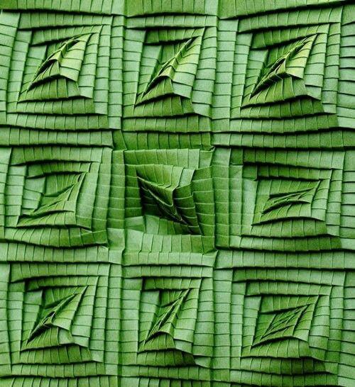 .flax weave design