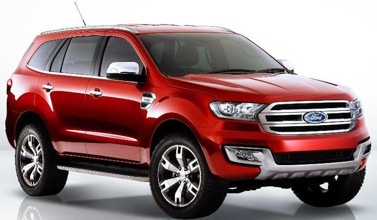Ford Everest Ford endeavour, Concept cars, Ford suv
