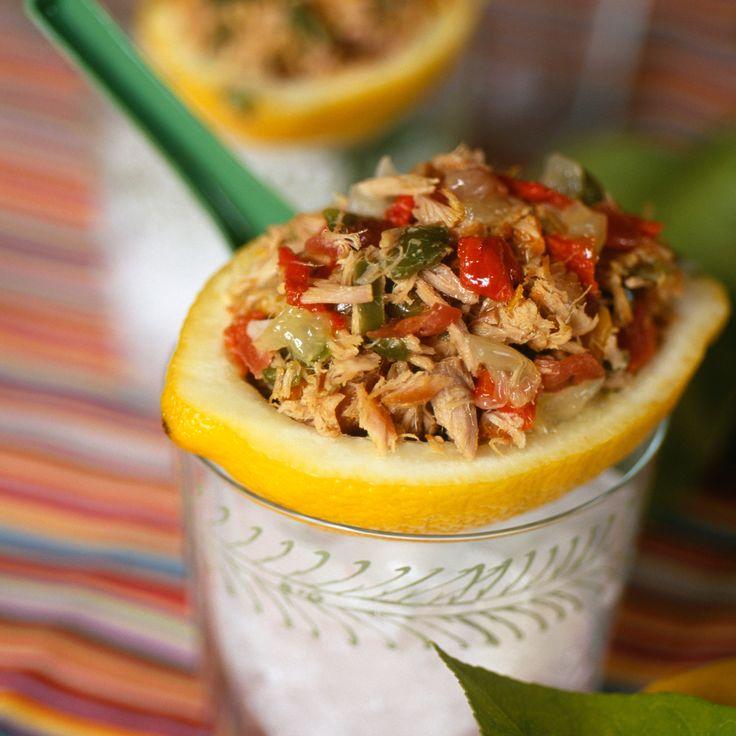 Salade de thon comme à l'Ile Maurice