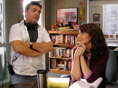 30 Rock/ Tina Fey & husband, producer-composer Jeff Richmond.