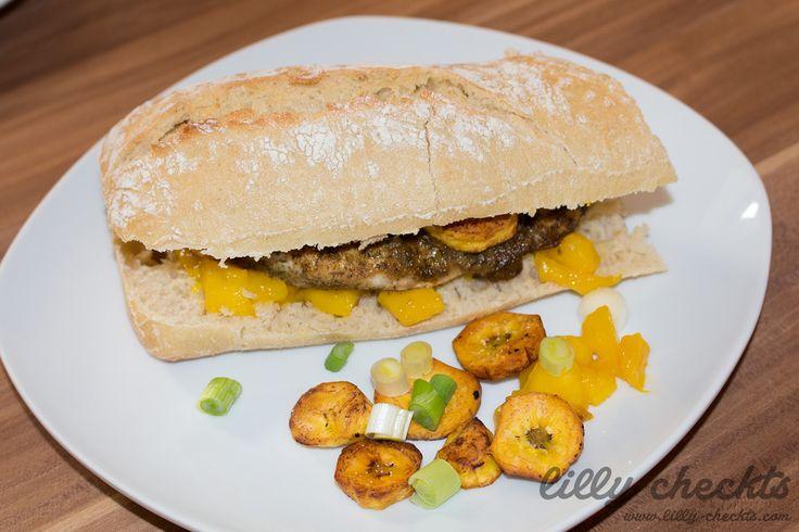 #Chickenburger #exotisch #lecker #food #gesund #health