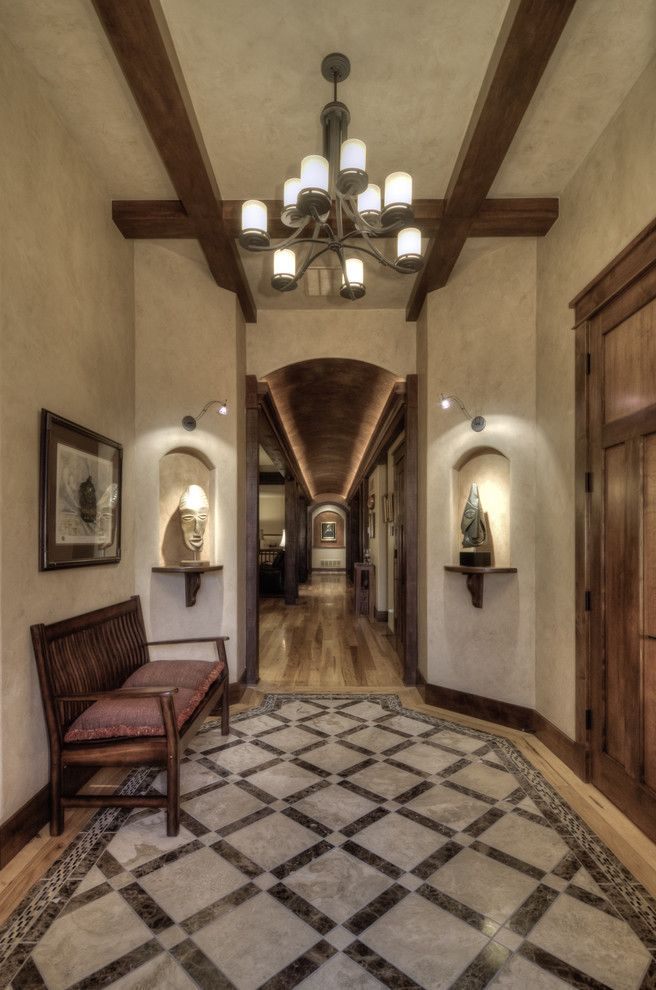 Light Ideas For Hallway Wood Beams Sconce Wall