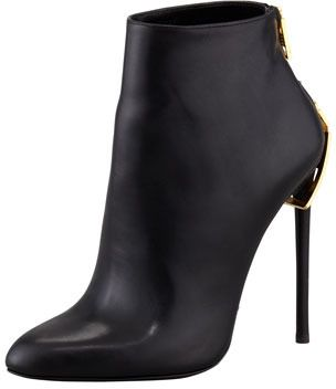 Black Ankle Boots by Tom Ford. Buy for $625 from Neiman Marcus