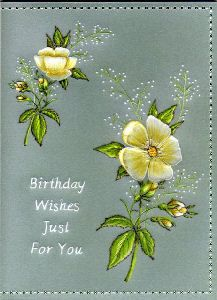 Card Gallery - Birthday Wishes Parchment Card