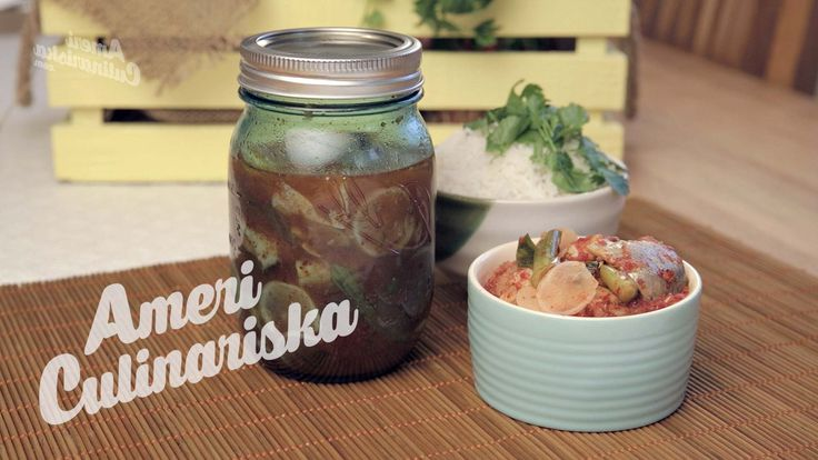 Pickled Herring Korean Style! Recipe (Koreansk sill) | Americulinariska