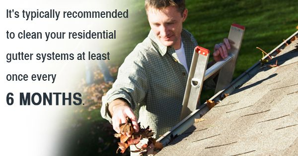 Why You Should Clean Your Gutters Before Winter Hits