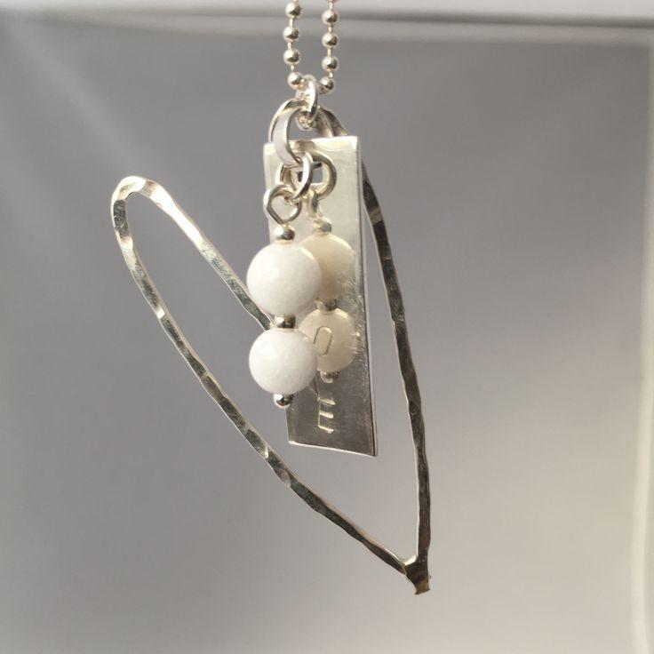Love white silverhjärta www.ebbadam.se
