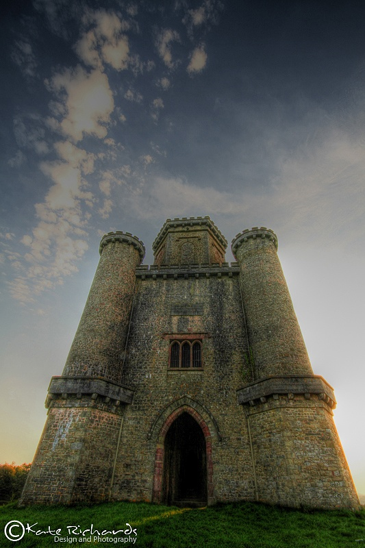 Paxtons Tower, South Wales