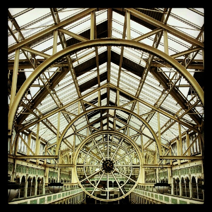 St Stephen's shopping centre in Dublin. Shops aren't too exciting, but the architecture is...