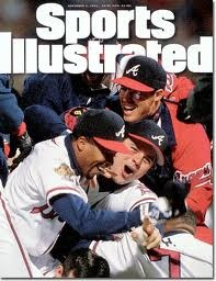 Atlanta Braves Sports Illustrated 1995 World Series Win