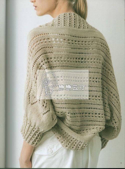 Hand knit wardrobe spring & summer  - 2015
