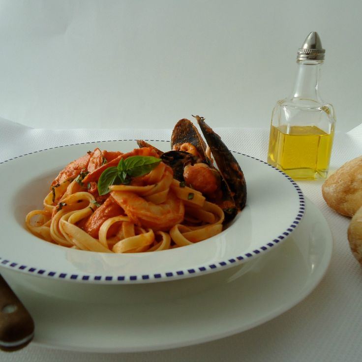 """#RecipeoftheDay: Seafood Marinara by redrose01ent and tender."""" - Vic and Pete"""