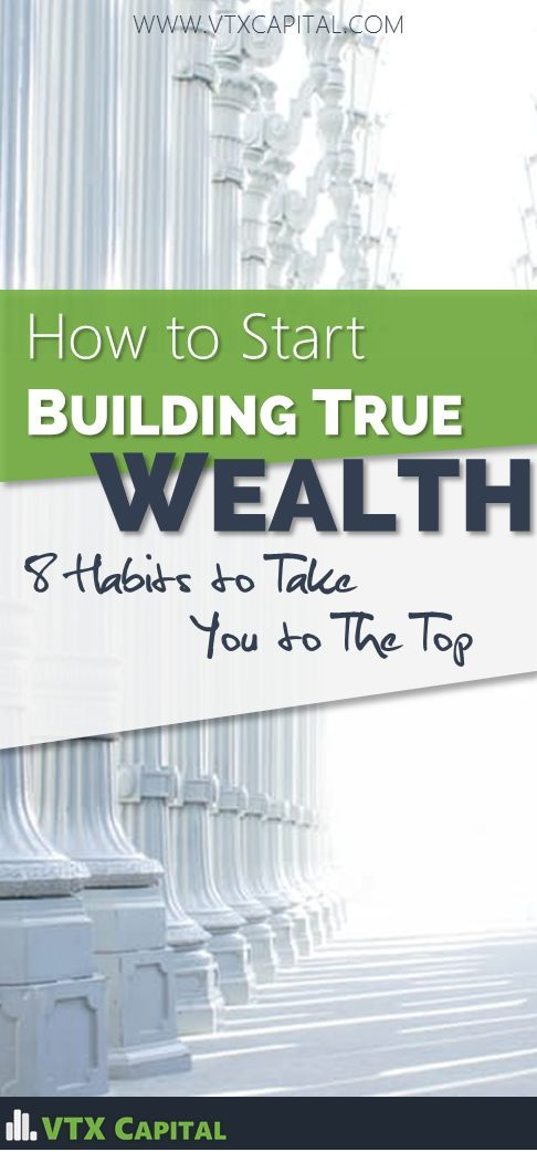 You won't get wealthy without a great foundation of healthy money habits.  Here are 8 must-have traits.  Personal Finance Tips | Money Management | How to Become Rich | Wealthy Habits