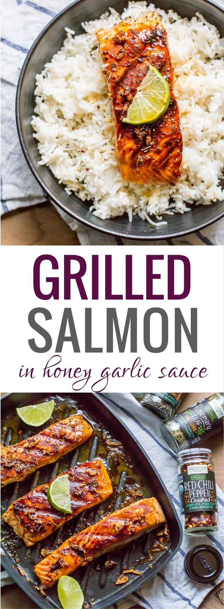 This easy 15-minute grilled honey garlic salmon is perfect for days when you crave a fancy meal but don't want to pay for it or spend hours making it. It is so finger-licking good that you'll imagine you are in an upscale restaurant enjoying a gourmet meal.