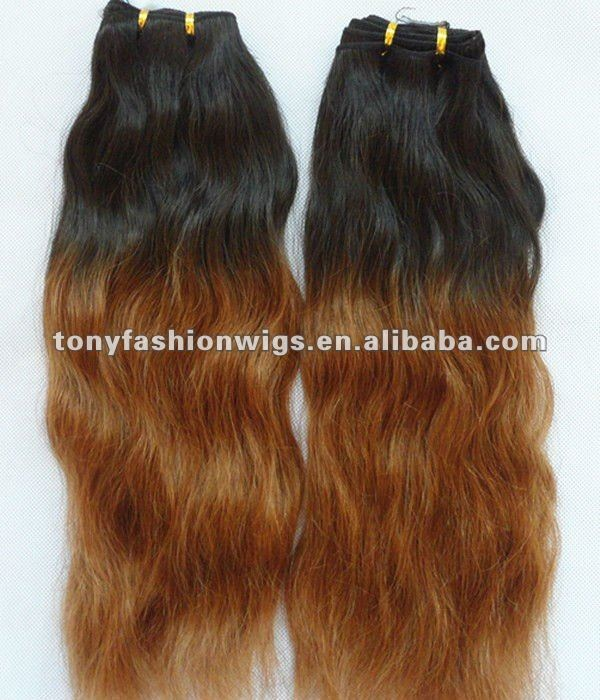 26 inch 1b t 30 two tone color malaysian virgin hair